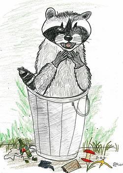 Pesky Raccoon by Ethan Chaupiz