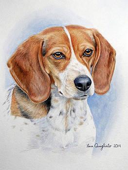 Pet Portrait by Lena Quagliato