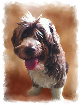 Pet Portrait by Michael Greenaway
