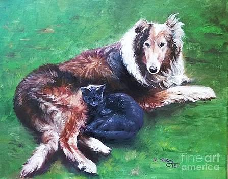 Pet Portrait  by Rose Wang