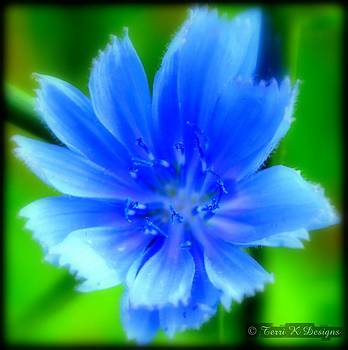 Petals of Blue by Terri K Designs