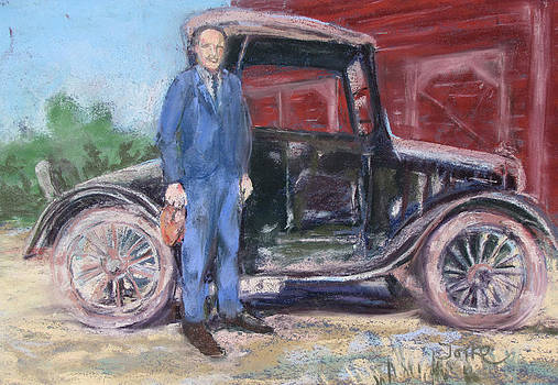 Pete and his Model-T by Barbara Torke