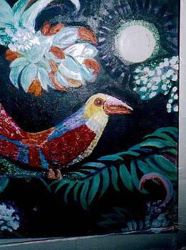 Anne-Elizabeth Whiteway - Pete the  Parrot Painting