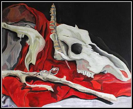 Pete the Skull by Kip Krause