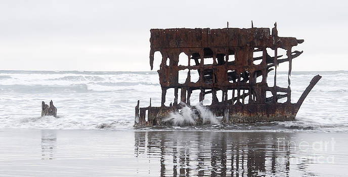 Vivian Christopher - Peter Iredale Shipwreck 1