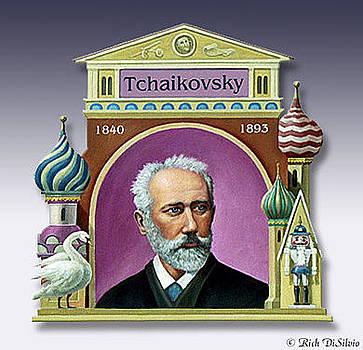 Peter Tchaikovsky by Rich DiSilvio