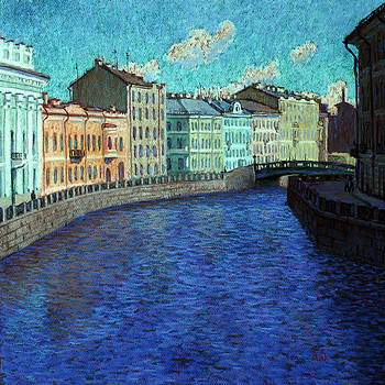 Petersburg. Moika river by Aleksey Zuev