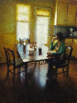 Petit dejeuner a Ste Emelie by Nicolas Martin