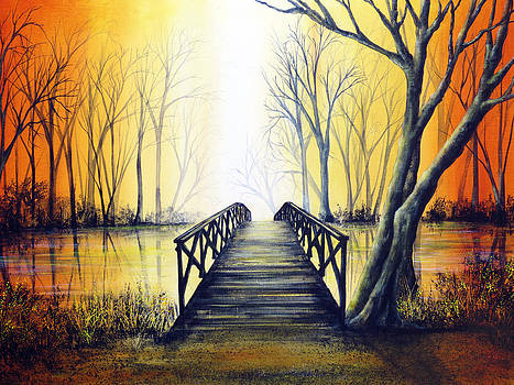 Petit Pont by Ann Marie Bone