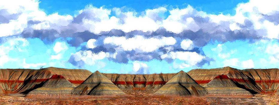 Petrified Arizona Panorama by Bruce Nutting