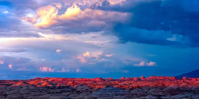 John McArthur - Petrified Dunes Sunset