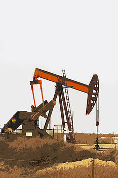 Art Block Collections - Petroleum Pumping Unit