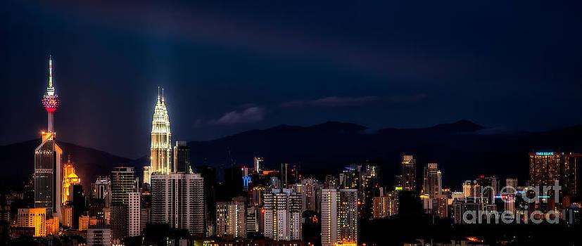 Adrian Evans - Petronas Lights