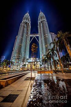 Adrian Evans - Petronas Twin Towers
