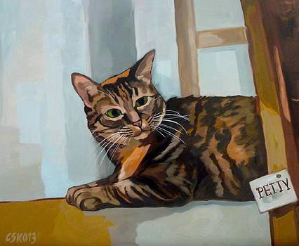 Petty by Carmen Stanescu Kutzelnig