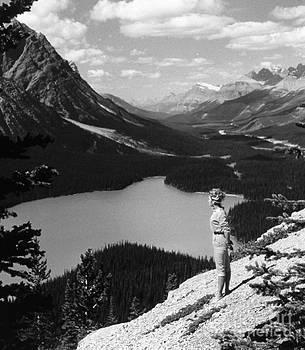 Linda Rae Cuthbertson - Peyto Lake Near Lake Louise Alberta Canada Vintage Photo