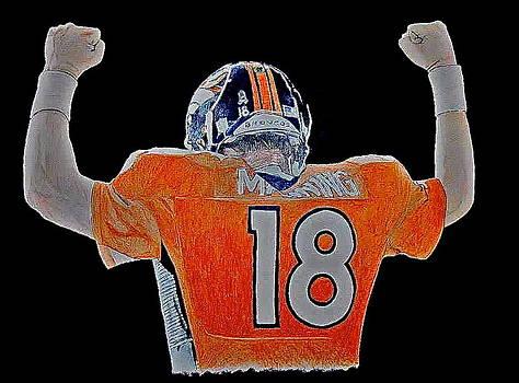 Peyton Manning by Darryl Mallanda