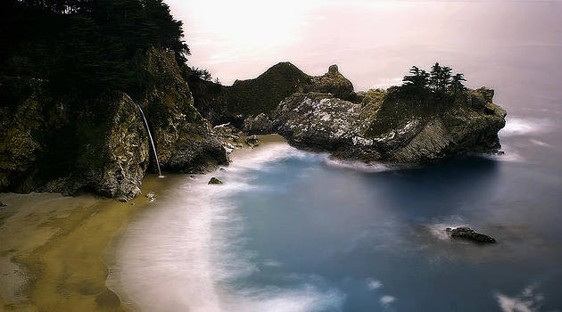 Pfeiffer Falls Big Sur by Nick Borelli