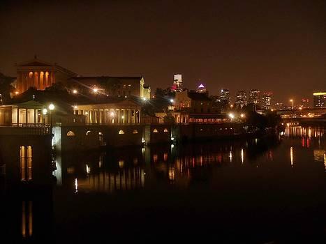 Philadelphia from the Schuykill by Ed Sweeney