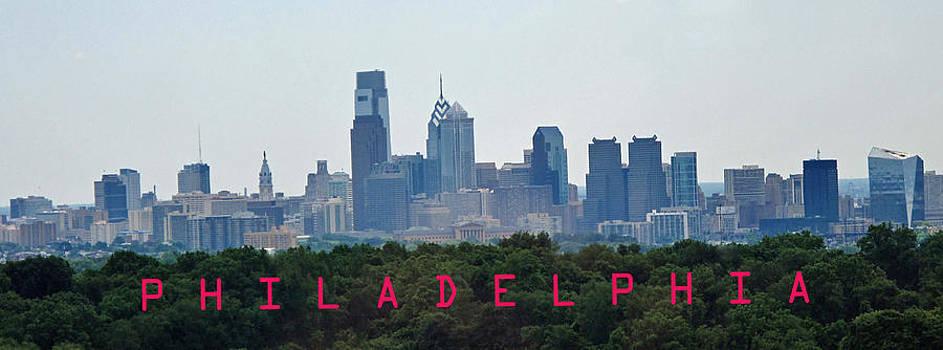 Ian  MacDonald - Philadelphia Skyline Poster
