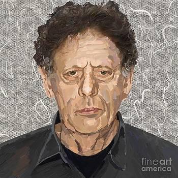 Philip Glass by Les Allsopp