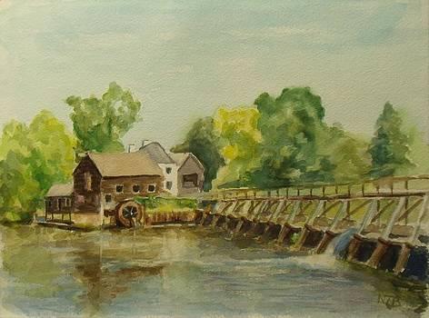 Philipsburg Manor Tarritown by Nicolas Bouteneff