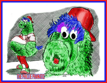 Chris  DelVecchio - Phillie Phanatic