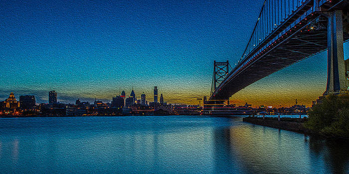 David Hahn - Philly and the Ben Franklin Bridge