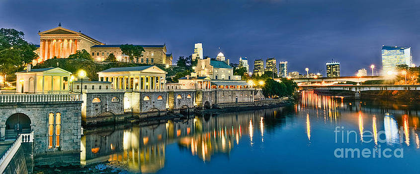 Philly Art Museum Night by Stacey Granger