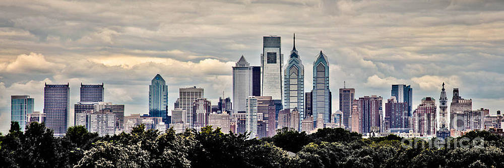 Philly in the Clouds by Stacey Granger