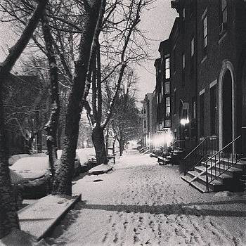 #philly Life.  I Predict 10.7 Inches by Dan  Diamond