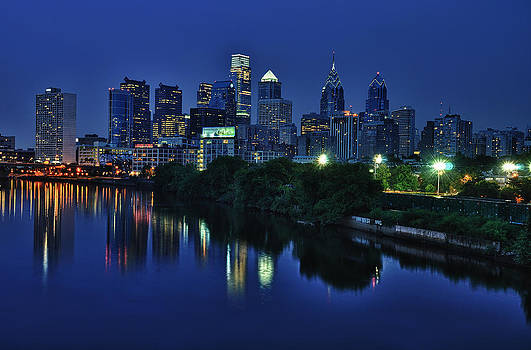 Philly Skyline by Mark Fuller