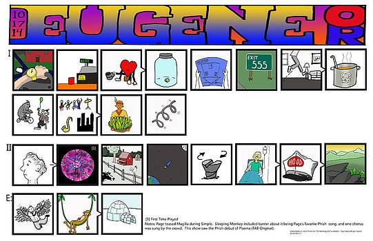 Phish 10 17 14 Eugene by Josean Rivera