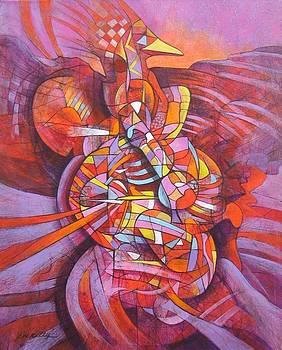 Phoenix Bird by J W Kelly