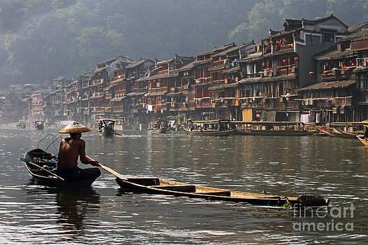 Phoenix Old Town in Zhangjiajie by Lars Ruecker