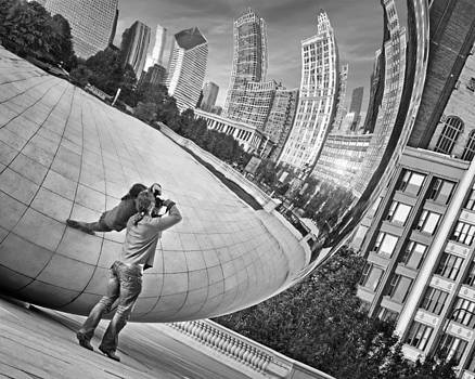 Nikolyn McDonald - Photographing the Bean - Cloud Gate - Chicago