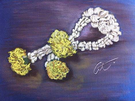 Phuang Malai Jasmine Flower Garland by Cristel Mol-Dellepoort