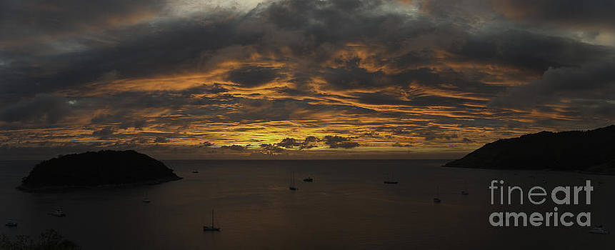 Phuket Sunset by Alex Dudley