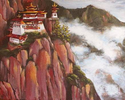 Phuktal Gonpa Monastery by Beth Fischer