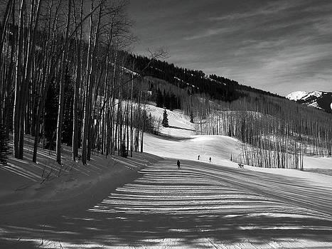 Phyllis Can Ski Snowmass by Don F  Bradford
