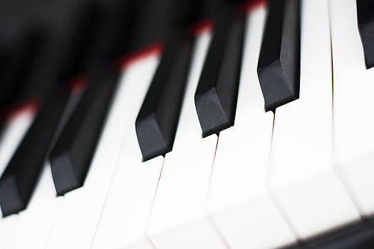 Newnow Photography By Vera Cepic - Piano keyboard closeup