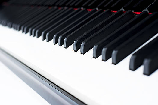 Newnow Photography By Vera Cepic - Piano keyboard from right