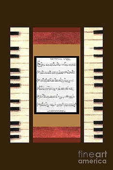 piano keys sheet music to Keep Of The Promise by Kristie Hubler by Kristie Hubler