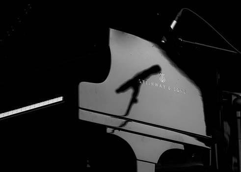 Piano needs a Microphone by Tony Reddington