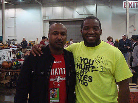 Pic with Alfred Morris by Lynde Washington