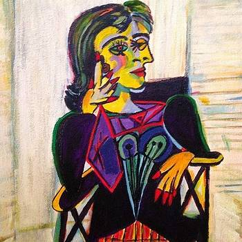 Picasso's Dora Maar by Susan Hanning