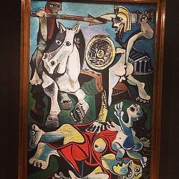 Picasso's 'rape Of The Sabine Women' by Derek Kaplan
