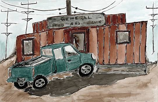 Lesley Fletcher - Pick Up Truck