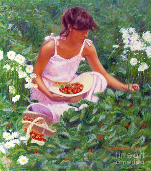 Candace Lovely - Picking Strawberries