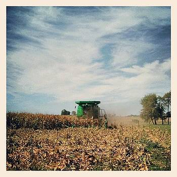 Picking The Corn Around Our House by Sandy MacGowan